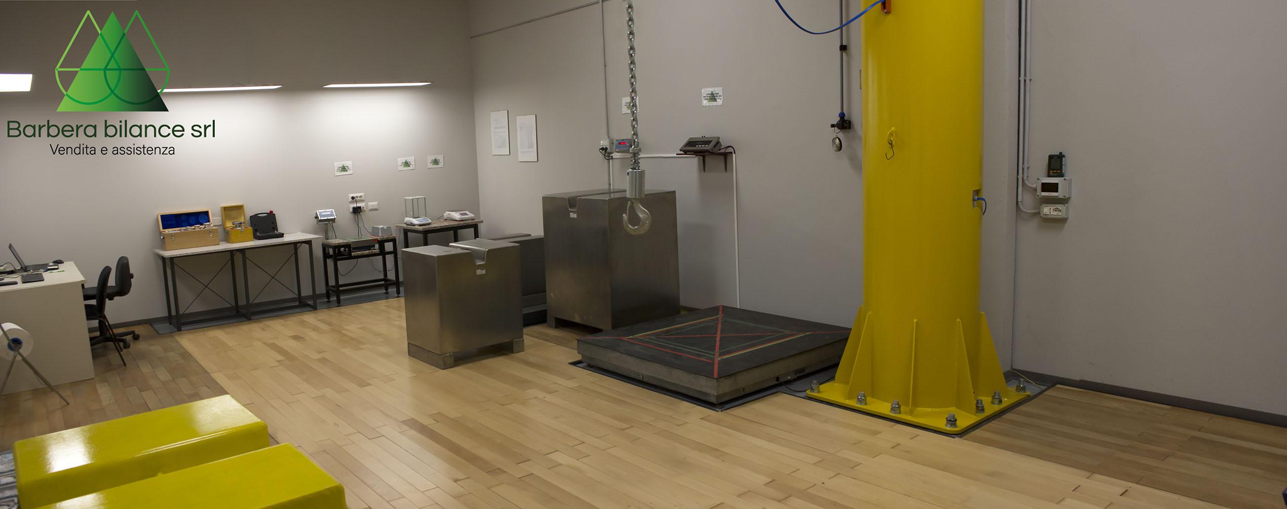 Il laboratorio metrologico di Barbera Bilance è all'avanguardia per ogni tipo di esigenze.