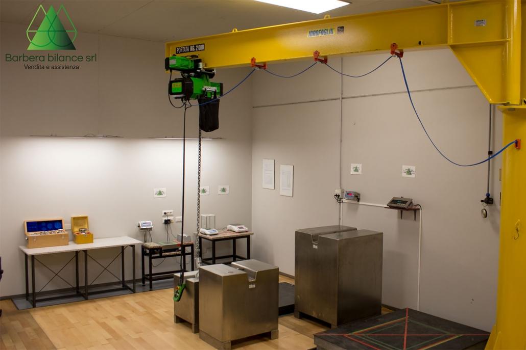 Laboratorio metrologico per uso professionale.